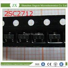 100 قطع 2SC2712 Y 2SC2712 الترانزستور npn 50 فولت 0.15A SOT 23