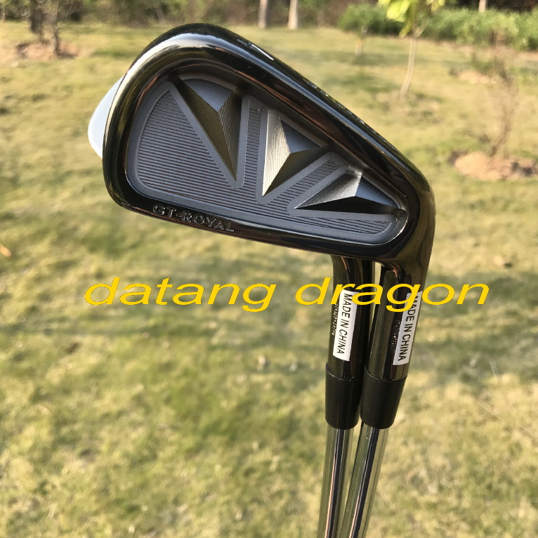 original golf irons authentic GRAND PRIX GT-ROYAL Forged irons with project X6.0 steel shaft real golf clubs cooyute new mens golf clubs katana voltio iii golf irons set 7 9 p a s club irons with graphite golf shaft r flex free shipping
