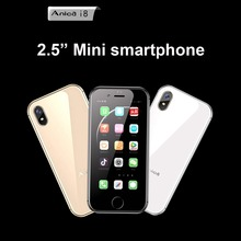 Anica i8 Smallest mini 4G Data Ultra thin Smart phone case Dual SIM Dual Standby