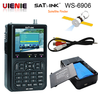 Genuine Satlink WS 6906 3 5 DVB S FTA Digital Satellite Meter Satellite Finder Ws