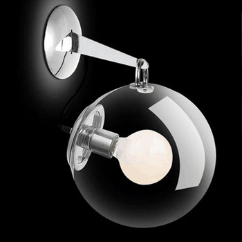 High Quality Creative Fashion Glass LED Wall Light Home  Decorate Sconce Brand New Bedroom Led Soap Bubble Wall Lamp
