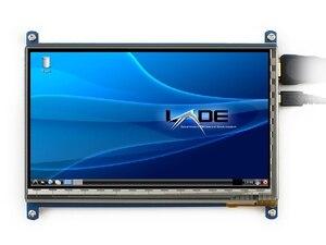 Image 5 - 7นิ้วราสเบอร์รี่piหน้าจอสัมผัส800*480 7นิ้วแบบCapacitive Touch Screen LCD,อินเตอร์เฟซHDMIรองรับระบบต่างๆ