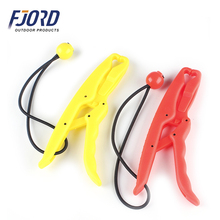 17 5cm 54g Solid Plastic Floating Fish Grip Hand Controller Holder 2color Red Yellow Fishing Lip
