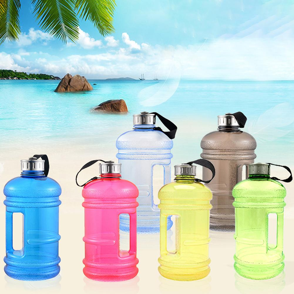 1.7L Portable Sports Gym Workout Travel Drinking Large Hammer Shapet Water Bottl
