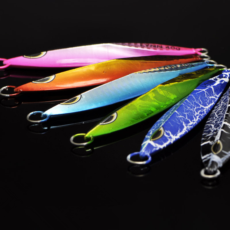 Fishing Lure Ocean Boat Shore Long Range Casting Jigs 40g/60g/80g/100g Jigbait hot selling 2017 new 1800lumens led mini home multimedia projector 1080p hd hdmi usb video high quality mar30