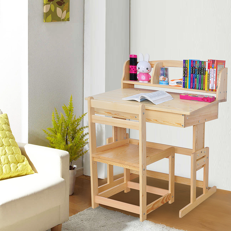 tienda online hogar yat escritorio y sillas para los nios aprender aprendizaje kit de escritorio de madera con estantes puede levantar hijos de escritorio