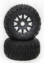 Trasero tercera generaciones de baja 5B páramo rueda del neumático de montaje, núcleo de metal 95193