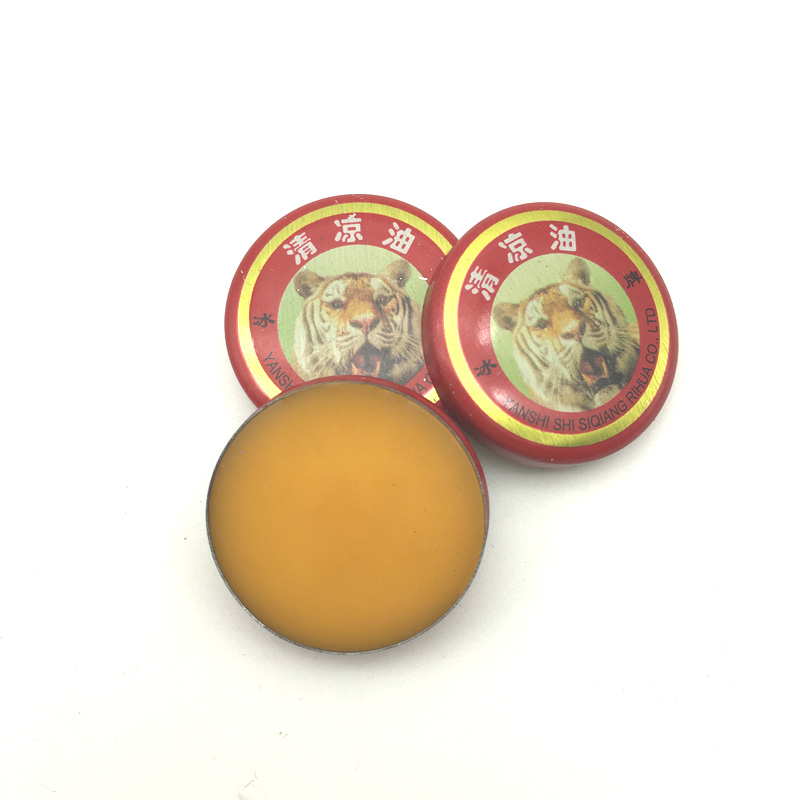 60pcs Chinese Tiger Balm Red Refresh Oneself Treatment Of Influenza Cold Headache Dizziness Muscle Massager Relax Essential Oil