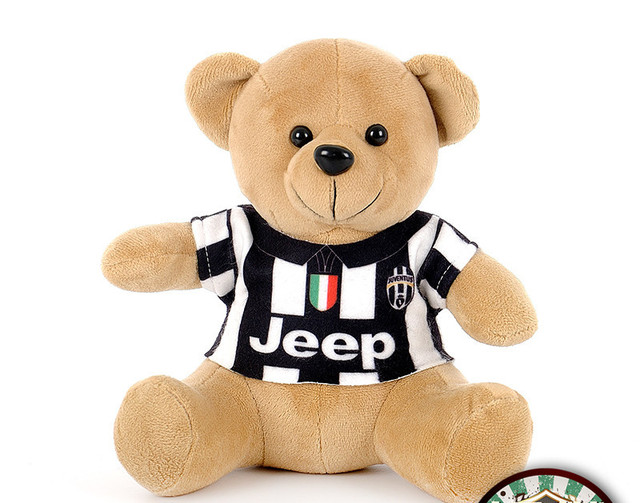 d33789d8 HOT Juventus jersey stuffed teddy bear. Juventus soccer jerseys fashion  toys. Car decoration accessories