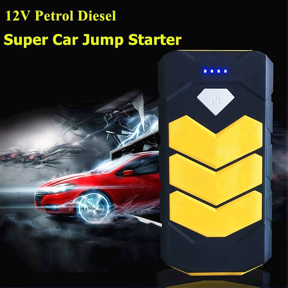 14000mAh <font><b>Portable</b></font> Car Battery Charger Starting Car Jump Starter Booster <font><b>Power</b></font> Bank 12V Auto Best quality Mini High capacity