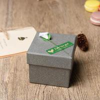 5pcs Square Paperboard FlowerJewelry Box Watch Bracelet Bangle Display Storage Cases Organizer Gift Boxes 8 8