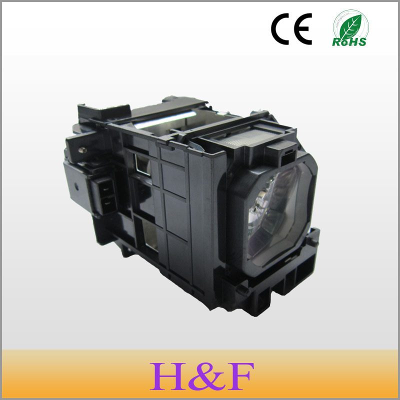 Free Shipping NP06LP Compatible Replacement Projector Lamp With Housing For NEC NP1150/ NC1200C/ NP1200/ NP1250/ NP2150 Lambasi free shipping original projector lamp with housing lh02lp for nec lt180