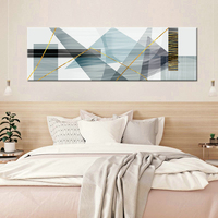 Modern Minimalist Abstract Painting Geometric Texture Shape Nordic Poster Canvas Print Yellow Geometric Wall Art Pictures Cuadr