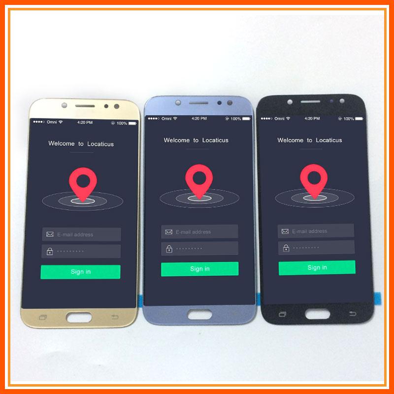 3 couleur Pour Samsung Galaxy J7 Pro 2017 J730 J730F J730M J730G J730Y écran lcd + numériseur à écran tactile Capteur Assemblée Verre
