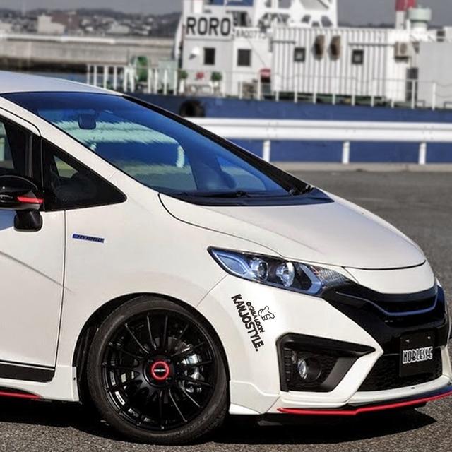 Noizzy Kanjo estilo Ho Tokyo Loop coche pegatina vinilo Auto calcomanía reflectante parabrisas cuerpo Tuning para Honda Fit Civic CRV de acuerdo
