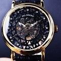 Caso Fina e Transparente Dos Homens Orkina Relógio De Designer De Diamante Homens Relógio Esqueleto Mecânico Relógio De Ouro Dos Homens Marca de Luxo Relógio Relogio