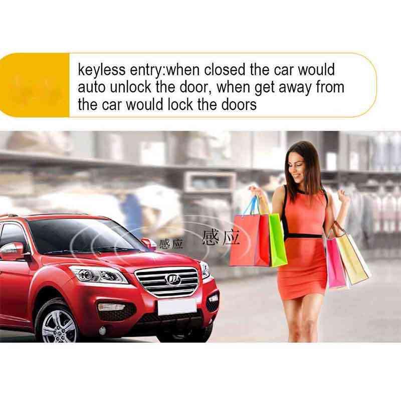 System zdalnego uruchamiania dla samochodu aplikacja na smartfona system alarmowy samochodu PKE Start Stop automatyczny dostęp bezkluczykowy centralny zamek/odblokowanie uniwersalny