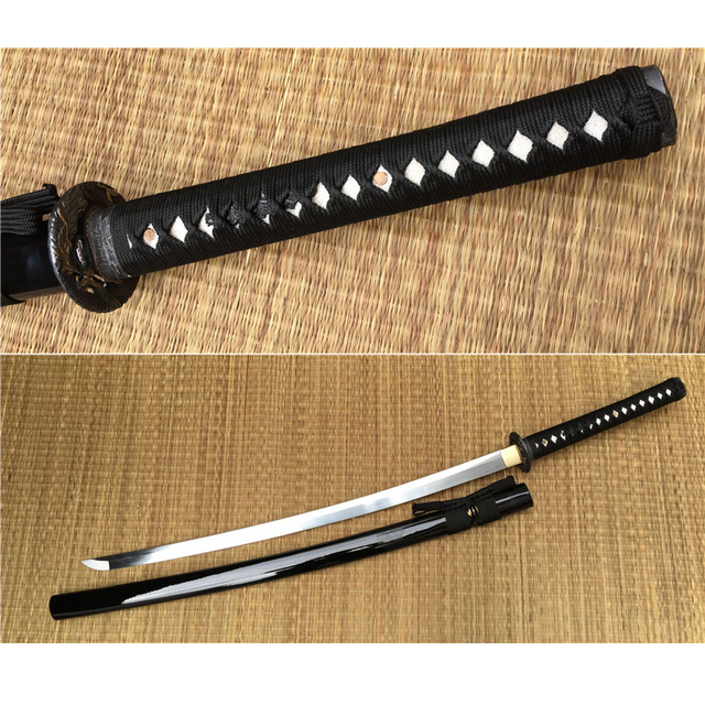 Free Shipping Handmade Dragon Style Katana Sword Good For Cutting And Bending ,Drop Shpping
