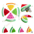 Free shipping Hot variety of fruit quality fruit cute plush purse coin purse multi color cartoon purse wholesale and retail