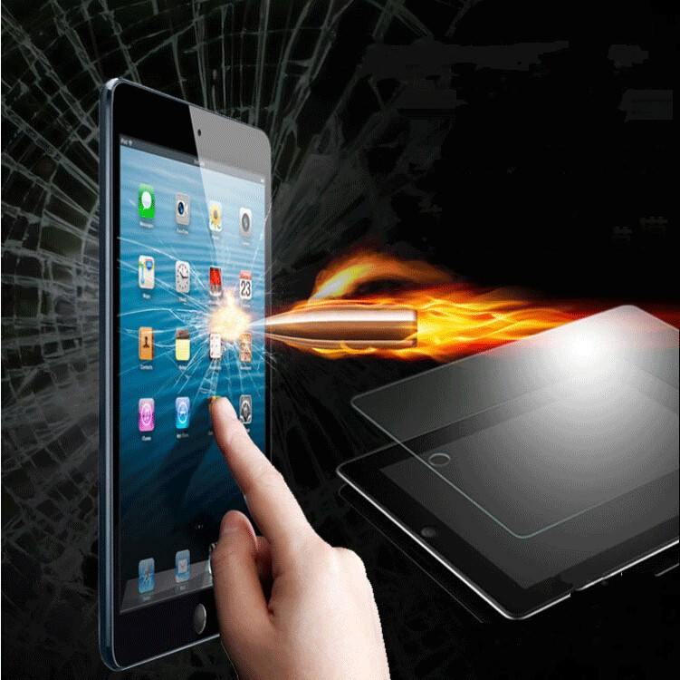 Hot-Sale-Tempered-Glass-Protective-Film-For-ipad-air-2-ipad-5-6-Explosion-Proof-Clear