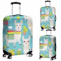 Coloranimal Alpaka Verdicken Elastische Gepäck Schutzhülle Gepäck Anzug für 18-30 Zoll Staub Koffer Tasche Zipper Reise Zubehör