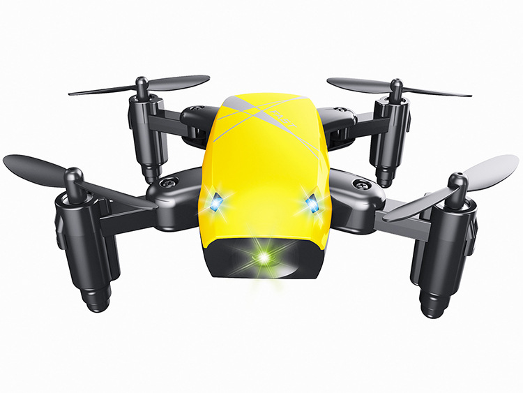 S9W Mini Drone with Camera S9 No Camera RC Airplanes Foldable Drones Altitude Hold Drone WiFi FPV Pocket Toy 9