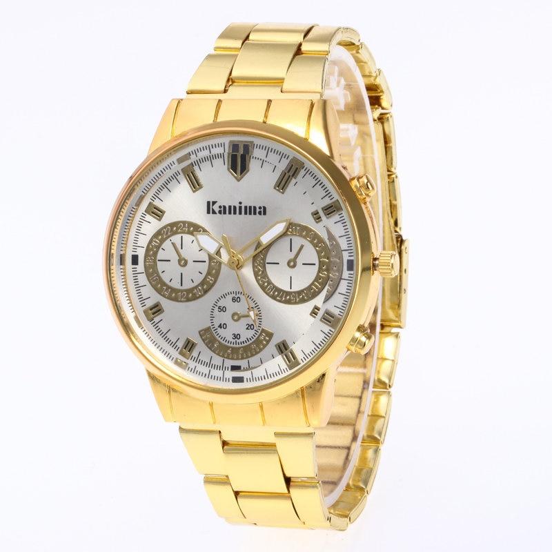 Reloj Mujer New Fashion Men Quartz Watch շքեղ բրենդ - Տղամարդկանց ժամացույցներ - Լուսանկար 2
