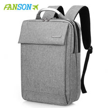 "FANSON Brand Men Backpacks 15.6"" Laptop 2019 Design Wom"