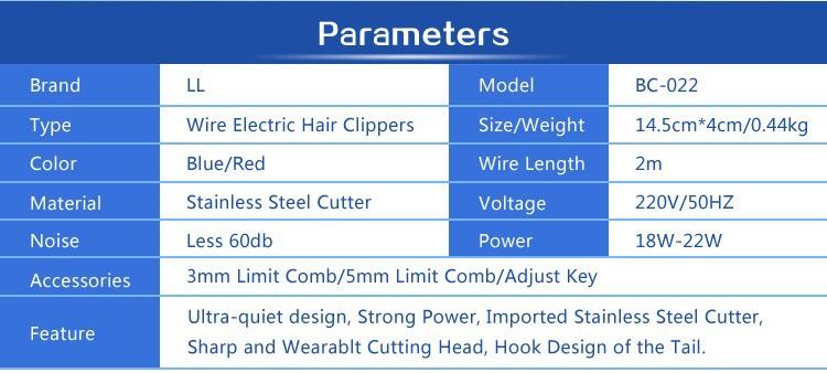 hair trimmer 1-001