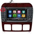 Два Din 7 Дюймов Автомобиля Dvd-плеер Для Mercedes/Benz/S280/S320/S350/S400/S500/W220/W215/C Class S-класса Canbus Радио GPS FM iPod Карта