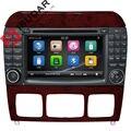 Dos Din 7 Pulgadas de Coches Reproductor de DVD Para Mercedes/Benz/S280 S320/S350/S400/S500/W220/W215/C Clase S Clase Canbus GPS de Radio FM iPod Mapa