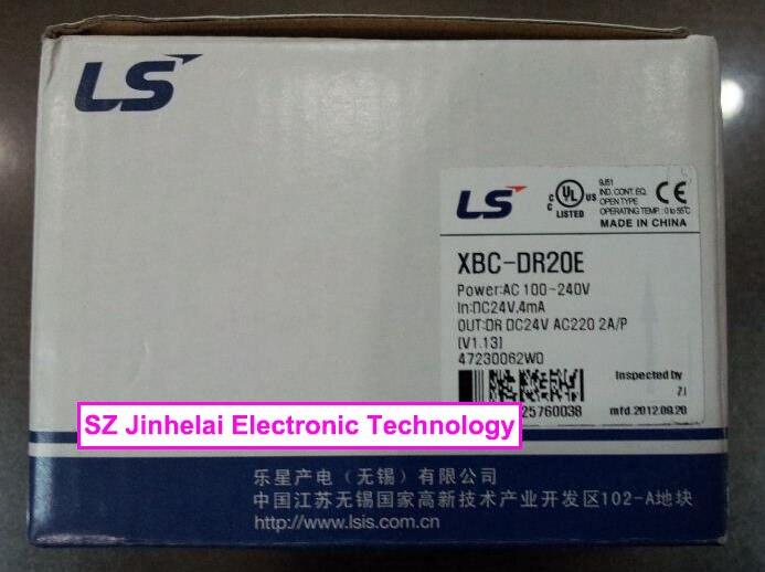 100% New and original  XBC-DR20E  LS(LG)   PLC controller  original and 100