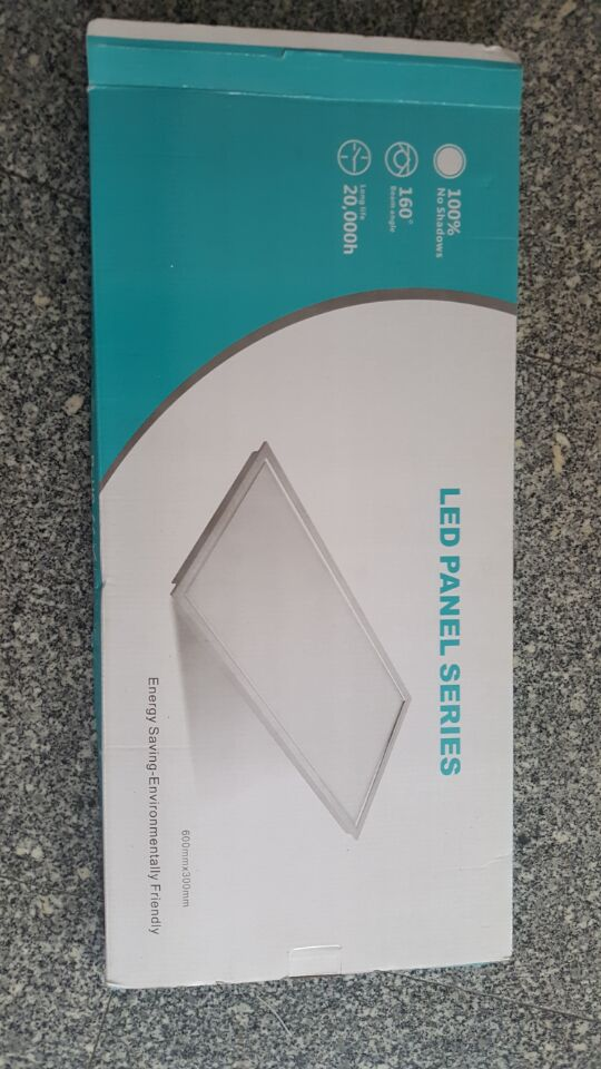 buy 600mm300mm 18w rectangle led panel lights bathroom ultrathin led downlights indoor bright kitchen ceiling lighting lamp 85 265v from