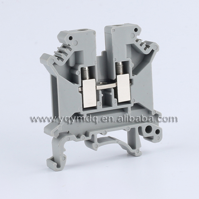 Terminal blocks UK5N DIN rail Wiring board connector terminals 4mm square voltage 800V 32A copper part : wiring terminal blocks - yogabreezes.com