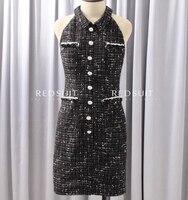 2017 Женская летняя обувь платье удивительно тонкий Vestido, черный офисное платье сексуальное сарафаны праздничное платье Большие размеры Vestidos