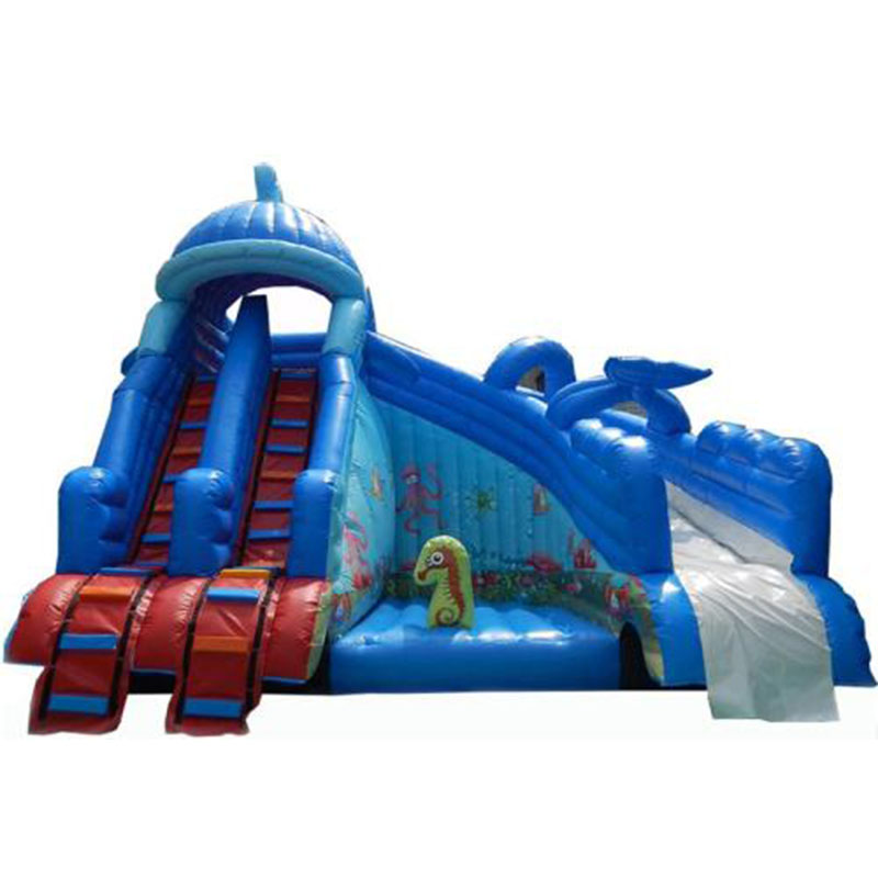PVC commercial grade inflatable slide for sale /outdoor ...
