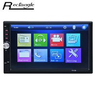 Hot 7 Inch Car Audio MP5 Player Bluetooth V2 0 Hands Free Call Support TF MMC