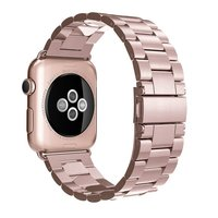 Stainless Steel Strap Band Butterfly Clasp For Apple Watch Sport Edition Series 1 Series 2 38mm