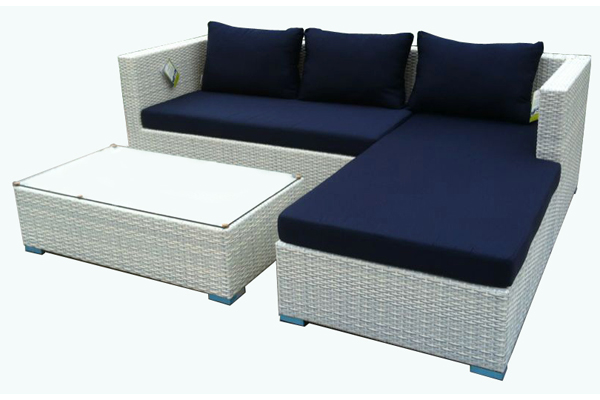 White Wicker Sofa For Sale Sectional Bed In Toronto Hot Aluminium Frame Modern Synthetic Rattan