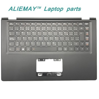 Laptop parts for LENOVO YOGA 2 13 Yoga2-13 BLACK Palmrest with Backlit CFA EN Keyboard 90205178 image