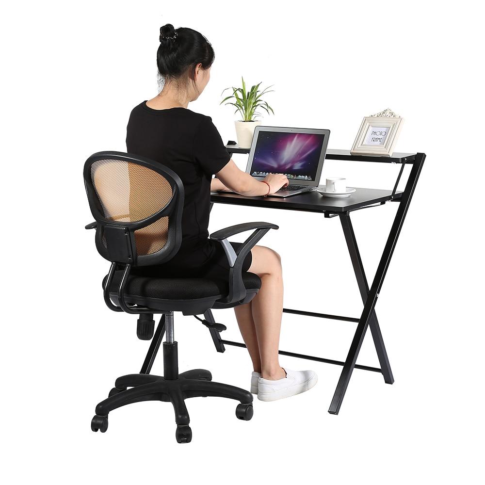 Modern Wooden Computer Desk Folding Table Furniture