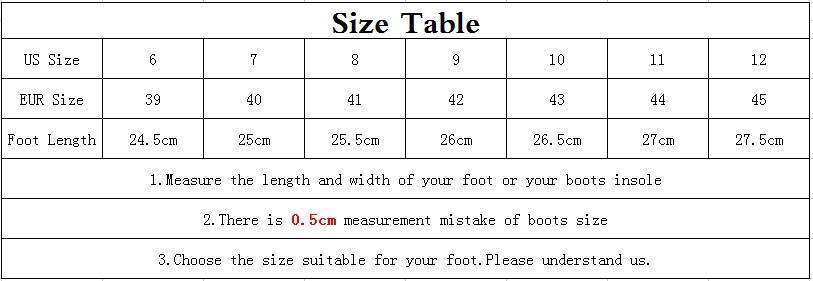 HANYE Size