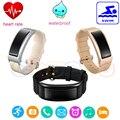 DF23 Bluetooth4.0 Fit Bit Pulseira Inteligente Pulseira Inteligente com monitor de freqüência cardíaca natação rastreador pk miband mi 2 d21 H3