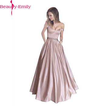 Simple Evening Dresses Long 3 Colors Available Sweetheart Neck Evening Dress Sexy Off the Shoulder Sleeveless Stain Formal Dress