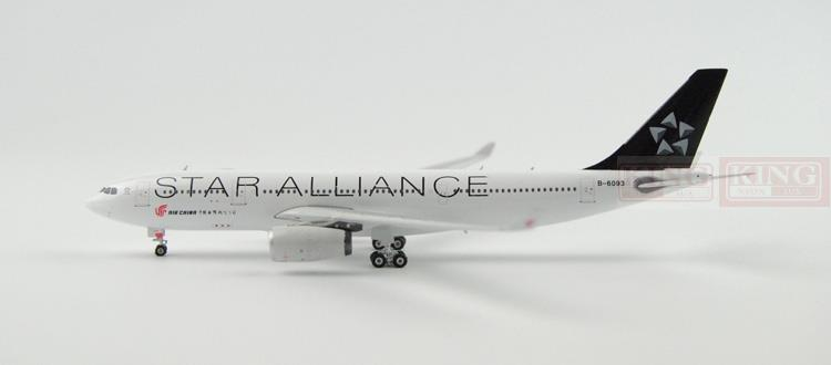 Phoenix 10897 China International Aviation B-6093 A330-200 Star Alliance commercial jetliners plane model hobby phoenix 11006 asian aviation hs xta a330 300 thailand 1 400 commercial jetliners plane model hobby