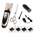Rechargeable Cordless Dog Grooming Clippers Kit Sharp Blade Dog Hair Trimmer Clipper Kit Machine
