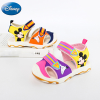 2018 Disney Sandals Cozy Perfect Boys Summer Mickey Shoes Girls Fashionable Breathable Baby Kids Sneakers Cute Children Sandals