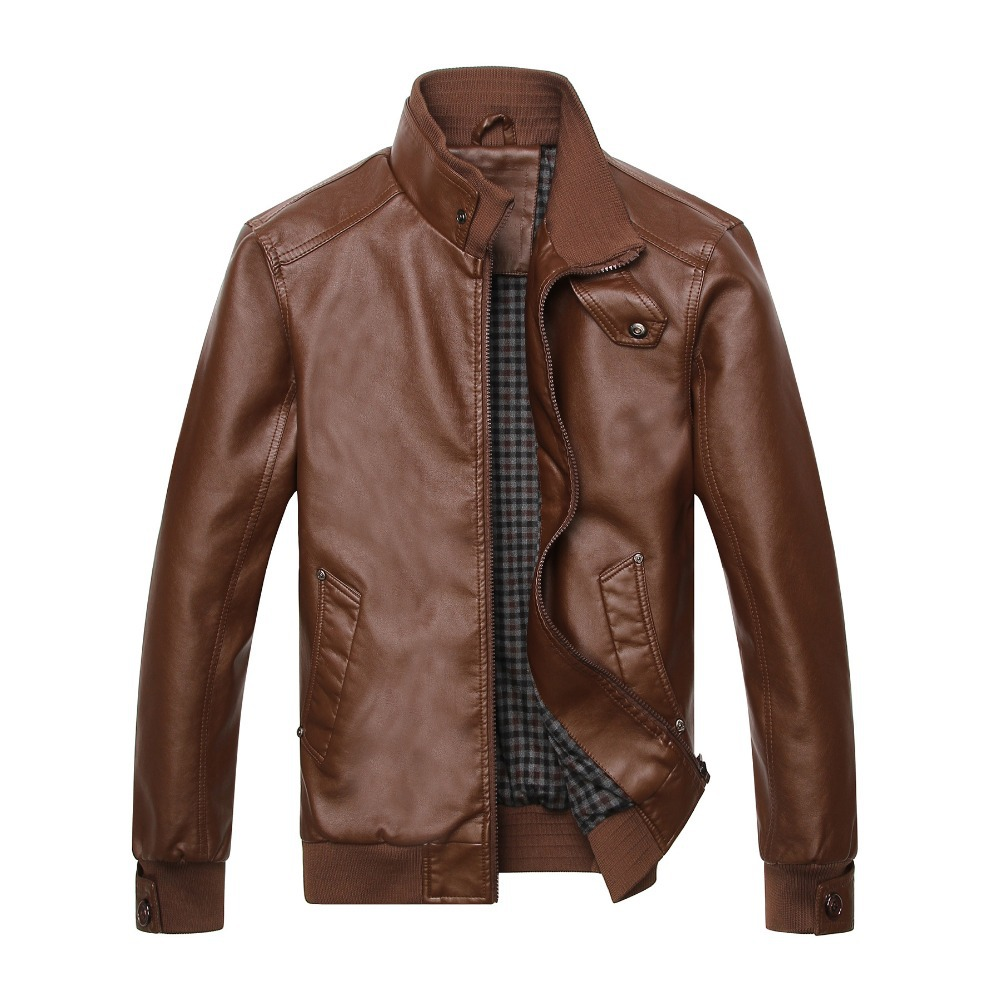 Online Buy Wholesale leather jacket men from China leather jacket ...