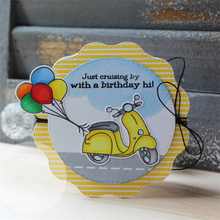 Eastshape Fun Car Metal Cutting Dies with Clear Stamps for Craft Scrapbooking Card Album Stencil New 2019