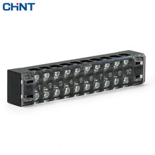 CHINT Combined Terminal Blocks TB-1510 Group Type Connection Row Connection Terminal Link Row 15A 10 Position original st35 spring type earthing terminal row